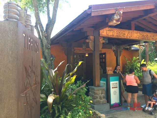 Tiffins Restaurant Entrance at Animal Kingdom