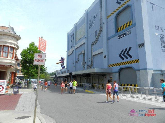 Transformers the Ride Universal Studios