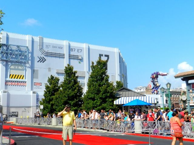 Transformers the Ride Universal Studios Grand Opening Day