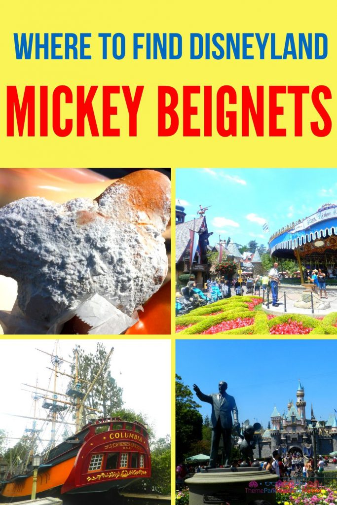 Where to Find Disneyland Beignets