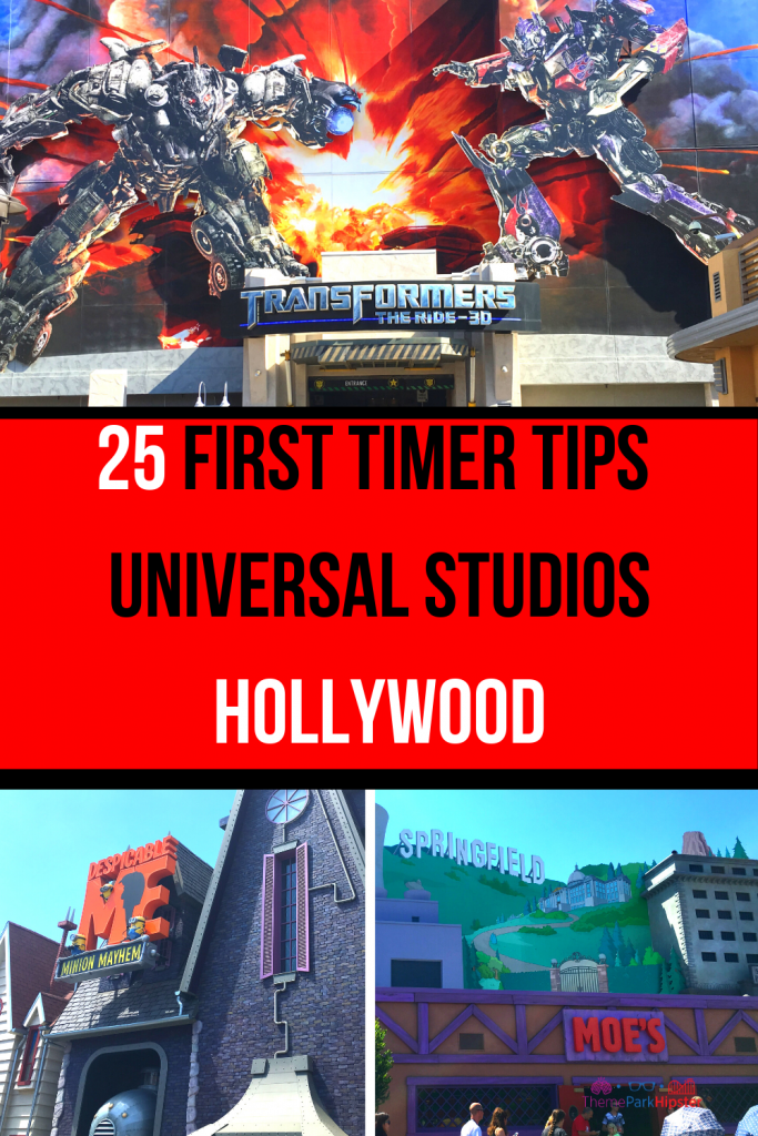 25 first timer tips universal studios hollywood