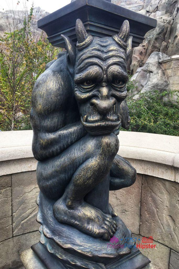 Be Our Guest Restaurant Gargoyle Statue