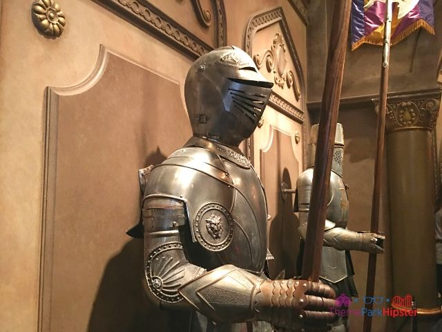 Be Our Guest Restaurant with Armored Men