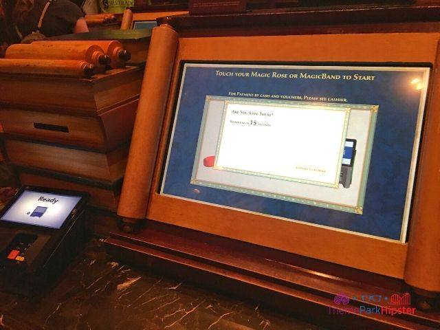 Be Our Guest Restaurant with Menu Kiosk