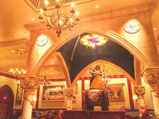 Be Our Guest Restaurant with rose room