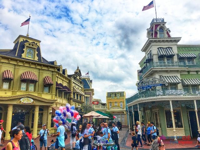 Magic Kingdom Main Street USA