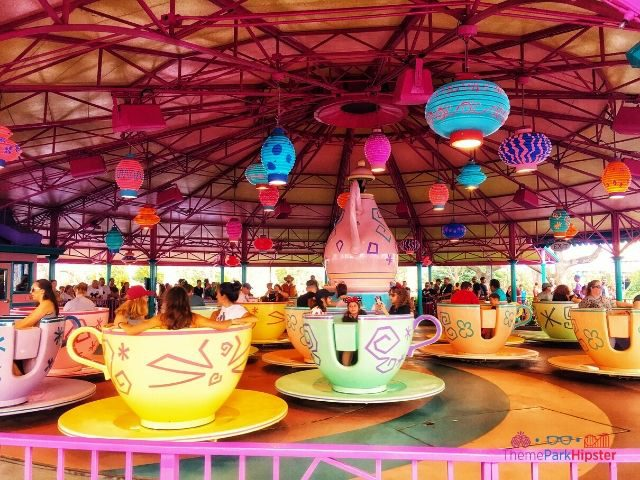 Magic Kingdom New Fantasyland Alice in Wonderland Ride Tea Cups
