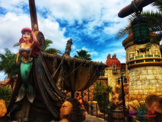 Magic Kingdom New Fantasyland Ariel Ride