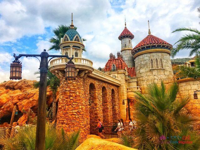 Magic Kingdom New Fantasyland Ariel Ride Entrance