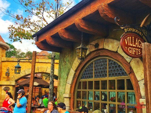 Magic Kingdom New Fantasyland Bonjour Village Gifts Entrance