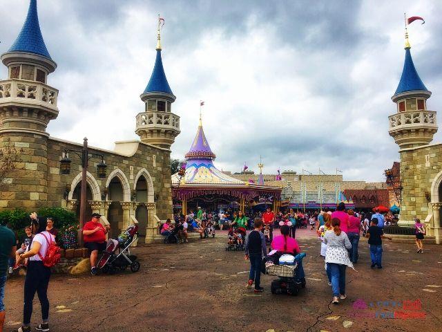 Magic Kingdom New Fantasyland Carousel