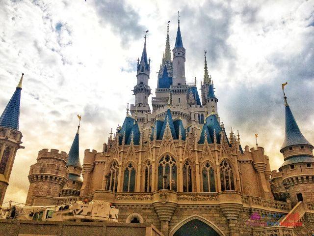 Magic Kingdom New Fantasyland Cinderella Castle