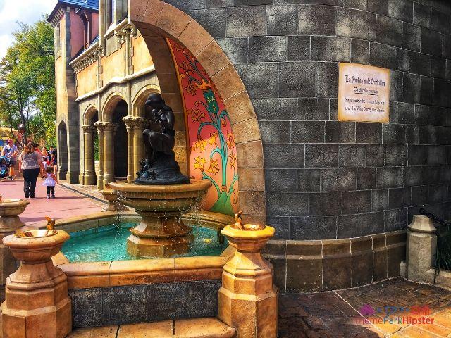 Magic Kingdom New Fantasyland Cinderella Fountain