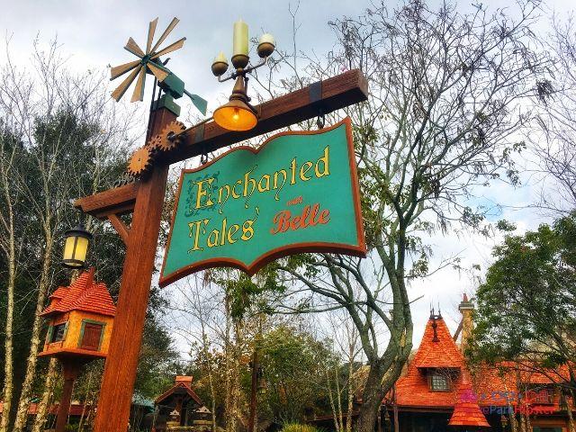 Magic Kingdom New Fantasyland Enchanted Tales with Belle