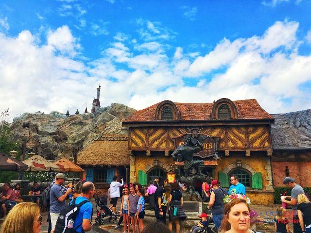 Magic Kingdom New Fantasyland Gaston's Tavern Entrance