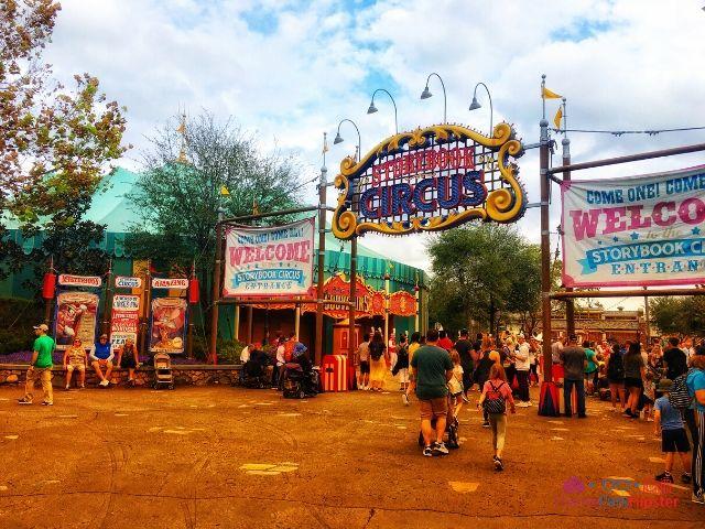 Magic Kingdom New Fantasyland Storybook Circus