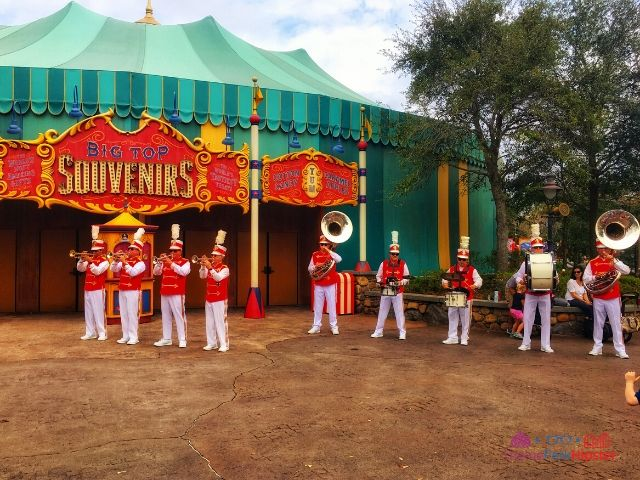 Magic Kingdom New Fantasyland Storybook Circus Band