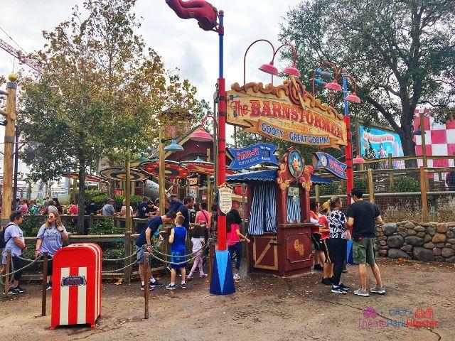 Magic Kingdom New Fantasyland The Barnstomer 28
