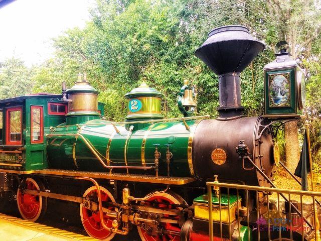 Magic Kingdom New Fantasyland Train at Railroad Station