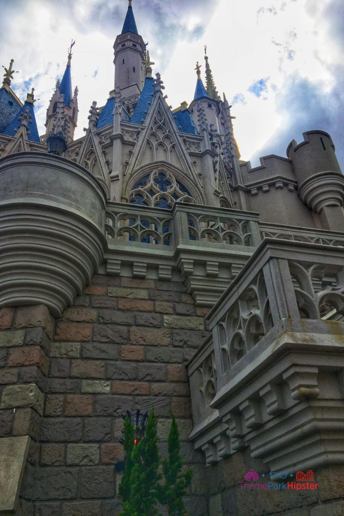 New Fantasyland at Magic Kingdom Cinderella Castle