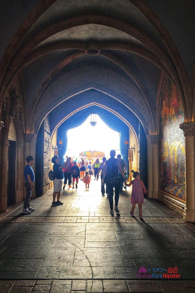 New Fantasyland at Magic Kingdom Cinderella Castle Corridor