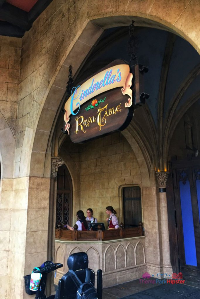 New Fantasyland at Magic Kingdom Cinderella Royal Table. Best restaurants magic kingdom
