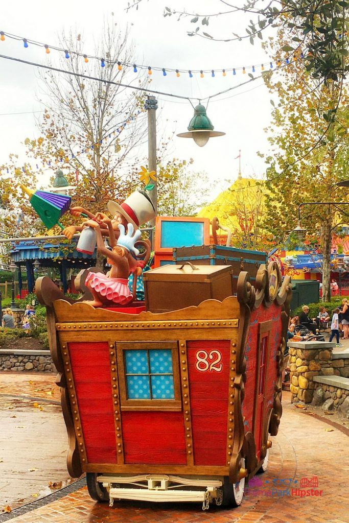 New Fantasyland at Magic Kingdom Story Book Circus Play Area