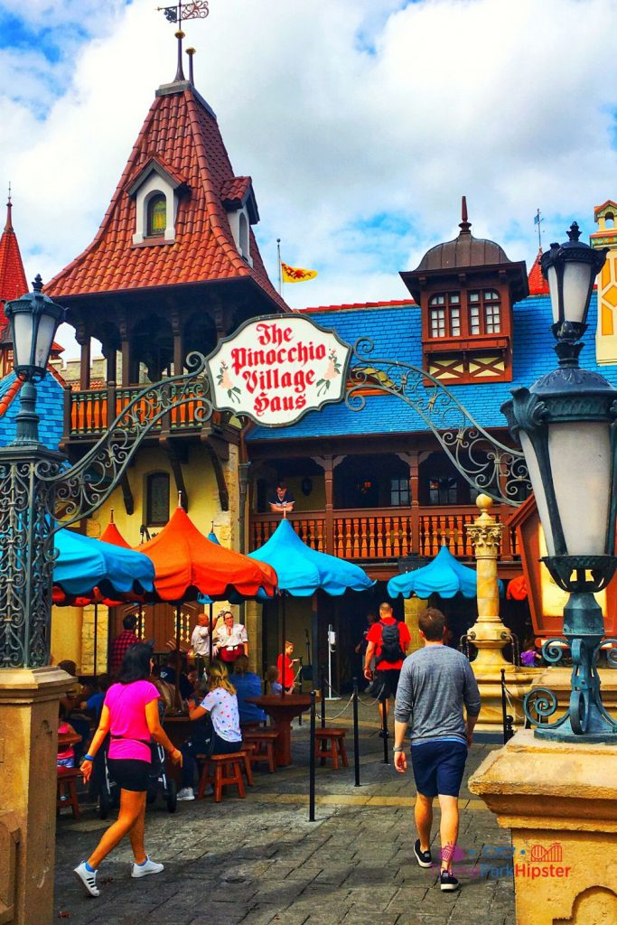 New Fantasyland at Magic Kingdom The Pinocchio Village Haus