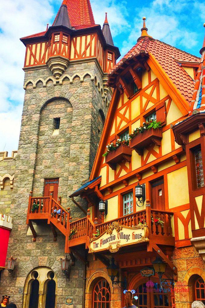 New Fantasyland at Magic Kingdom The Pinocchio Village Haus