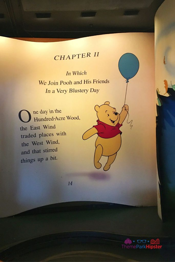 New Fantasyland at Magic Kingdom Winnie the Pooh Ride chapter 11 book page. Alone vs. Lonely at Disney.
