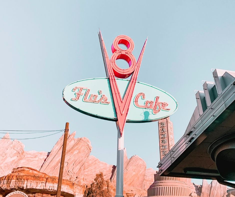 Disney California Adventure Flos Cafe in Carsland