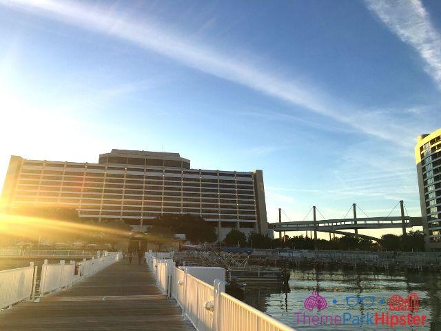 Disney Contemporary Resort Lake View