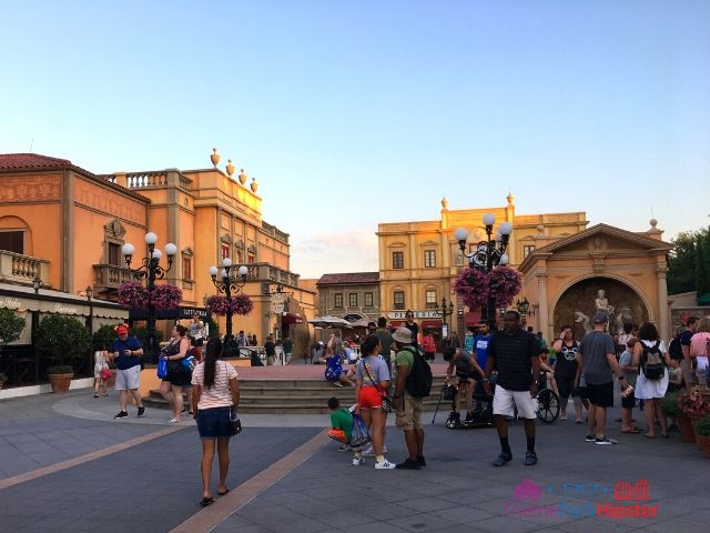 Italy Pavilion Square in Epcot