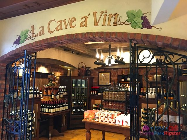 Italy Pavilion Wine Shop in Epcot