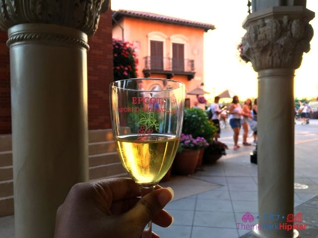 Italy Pavilion Wine Walk in Epcot