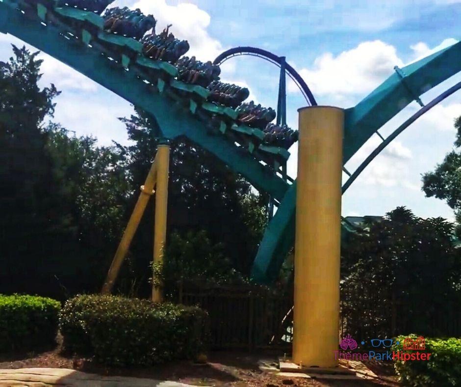 Kraken Roller Coaster Train Design