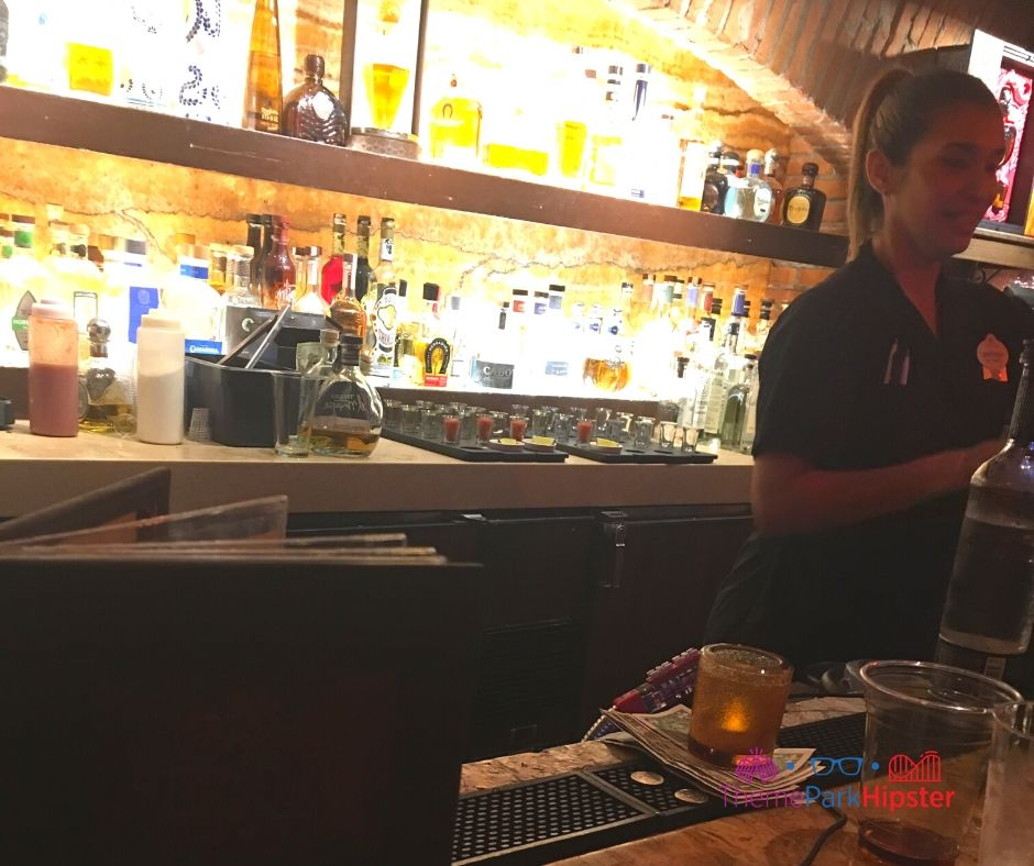 La Cava del Tequila Bar Area with Mixologist