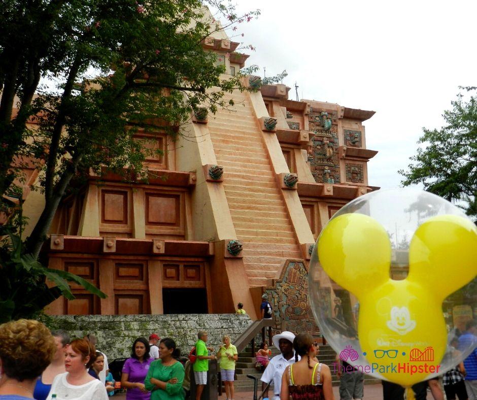 Epcot Mexico Pavilion Pyramid View
