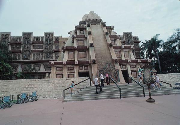 Mexico Pavilion in EPCOT Center at the Walt Disney 1983 World Resort Orlando, Florida.