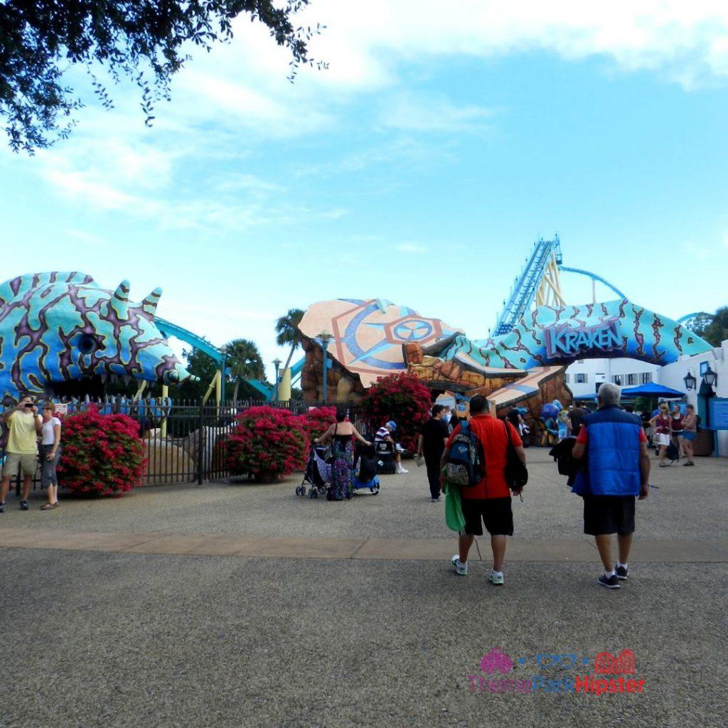 Original Entrance to Kraken