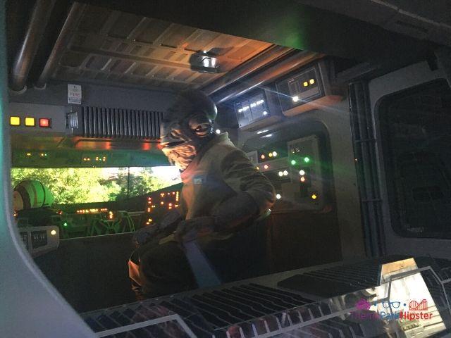 Star Wars rides in Galaxys Edge Rise of the Resistance First Portion of the Ride