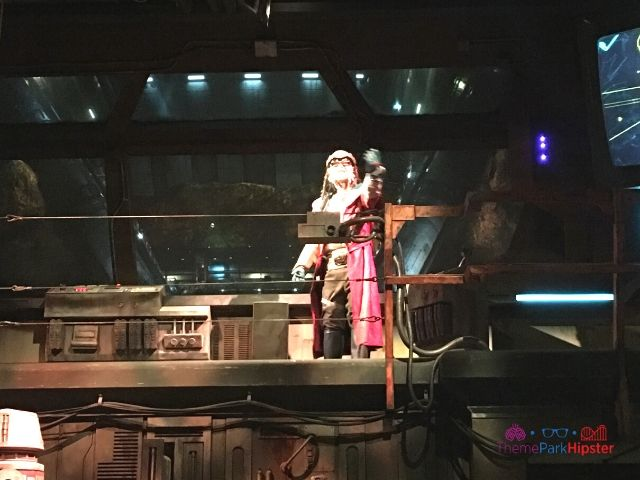 Star Wars rides in Galaxy's Edge Smugglers Run with Hondo in Pre Show