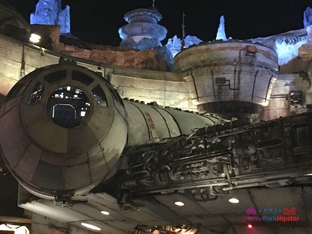 Star Wars Galaxys Edge Smugglers Run at Night