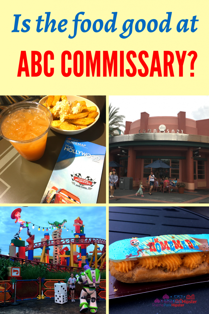 ABC Commissary Hollywood Review and Food