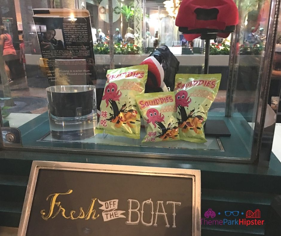 ABC Commissary Hollywood Studios Fresh Off the Boat TV Show Display
