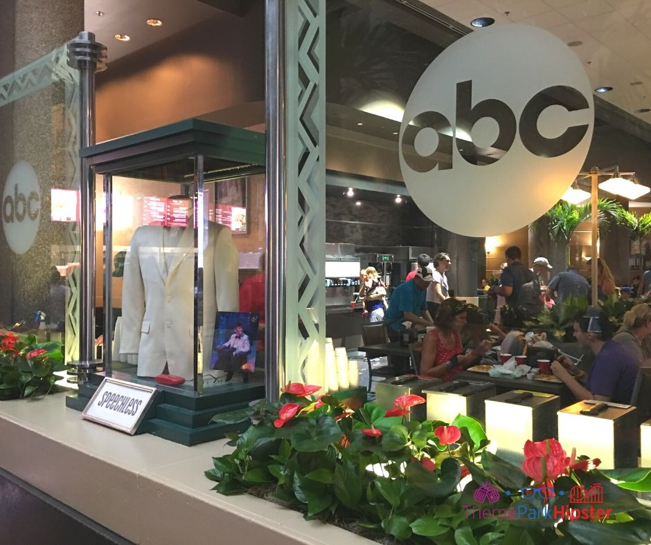 ABC Commissary Hollywood Studios Speechless TV Show Display