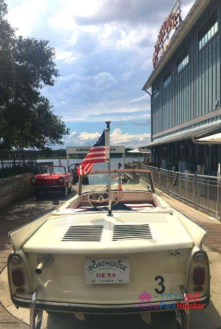 Boathouse at Disney Springs Amphicar Launching Station