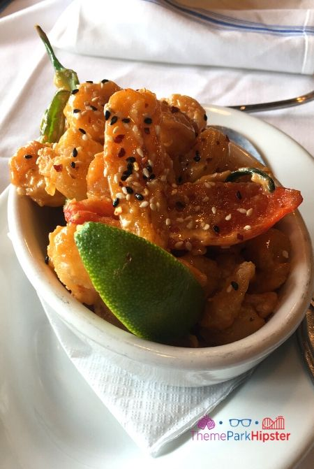 Boathouse at Disney Springs Firecracker Shrimp with Lime