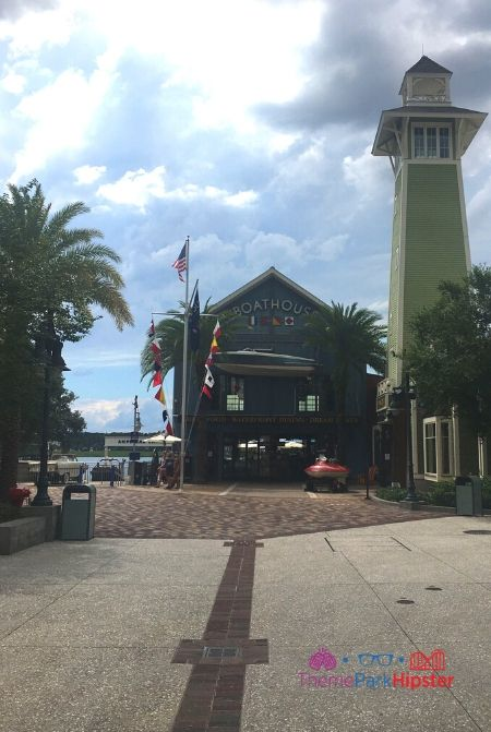 Boathouse at Disney Springs Front Exterior