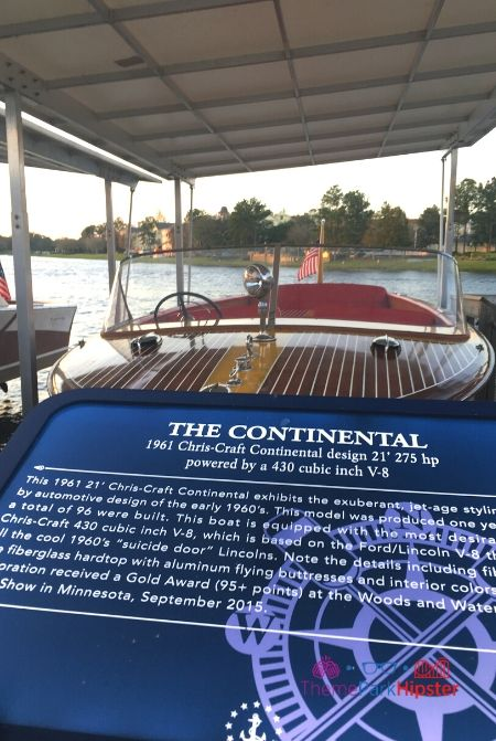 Boathouse at Disney Springs Outdoor Pier with The Continental Boat